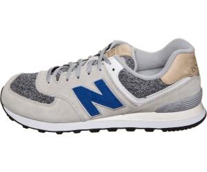 NEW Balance ML 574 D vah Silver Scarpe Sneaker Grigio Blu