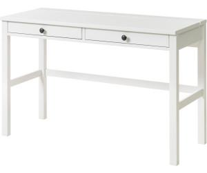 Schreibtisch ikea weiß  Ikea HEMNES Schreibtisch mit 2 Schubladen 47x75x120cm ab 129,00 ...