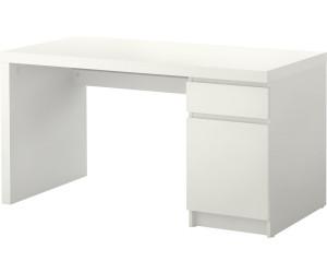 ikea malm schreibtisch 65x73x140cm wei ab 109 00 preisvergleich bei. Black Bedroom Furniture Sets. Home Design Ideas