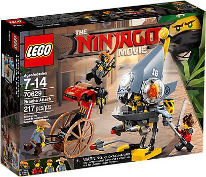 LEGO Ninjago - Piranha-Angriff (70629)