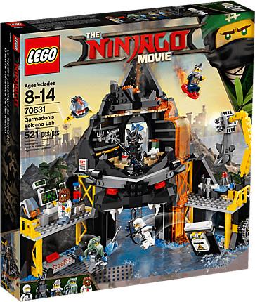 LEGO Ninjago - Garmadons Vulkanversteck (70631)