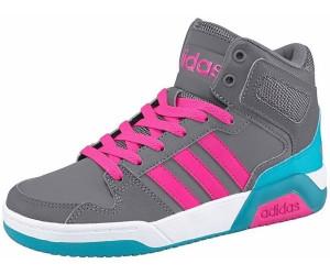 Adidas NEO BB9tis Mid K greyshocking pinkgrey au meilleur