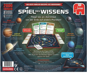 Brettspiel Wissensspiel von Jumbo Spiel des Wissens Familienspiel