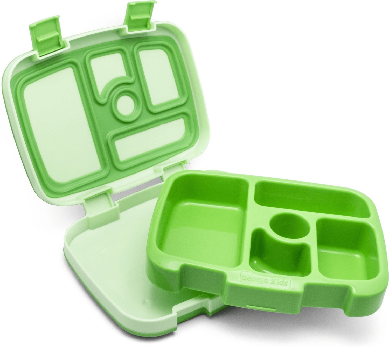 Bentgo Kinder Lunchbox grün | Küche und Esszimmer > Aufbewahrung > Vorratsdosen | Kunststoff