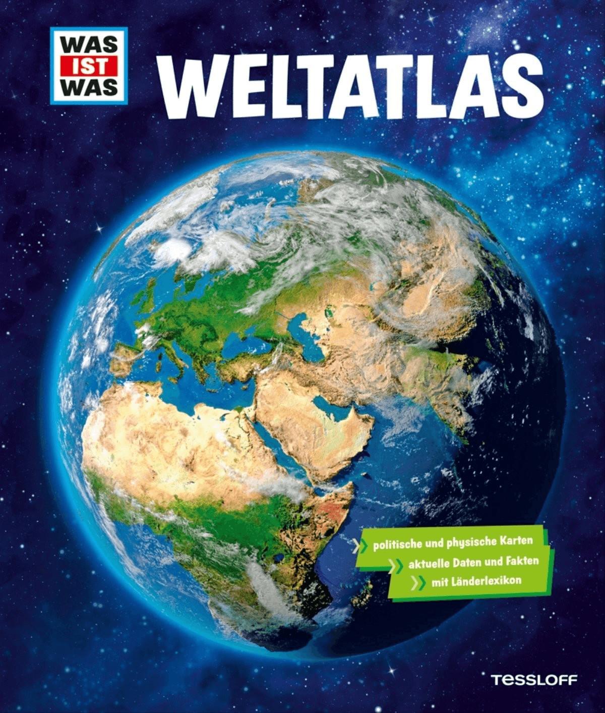 default WAS IST WAS Weltatlas [Gebundenes Buch]