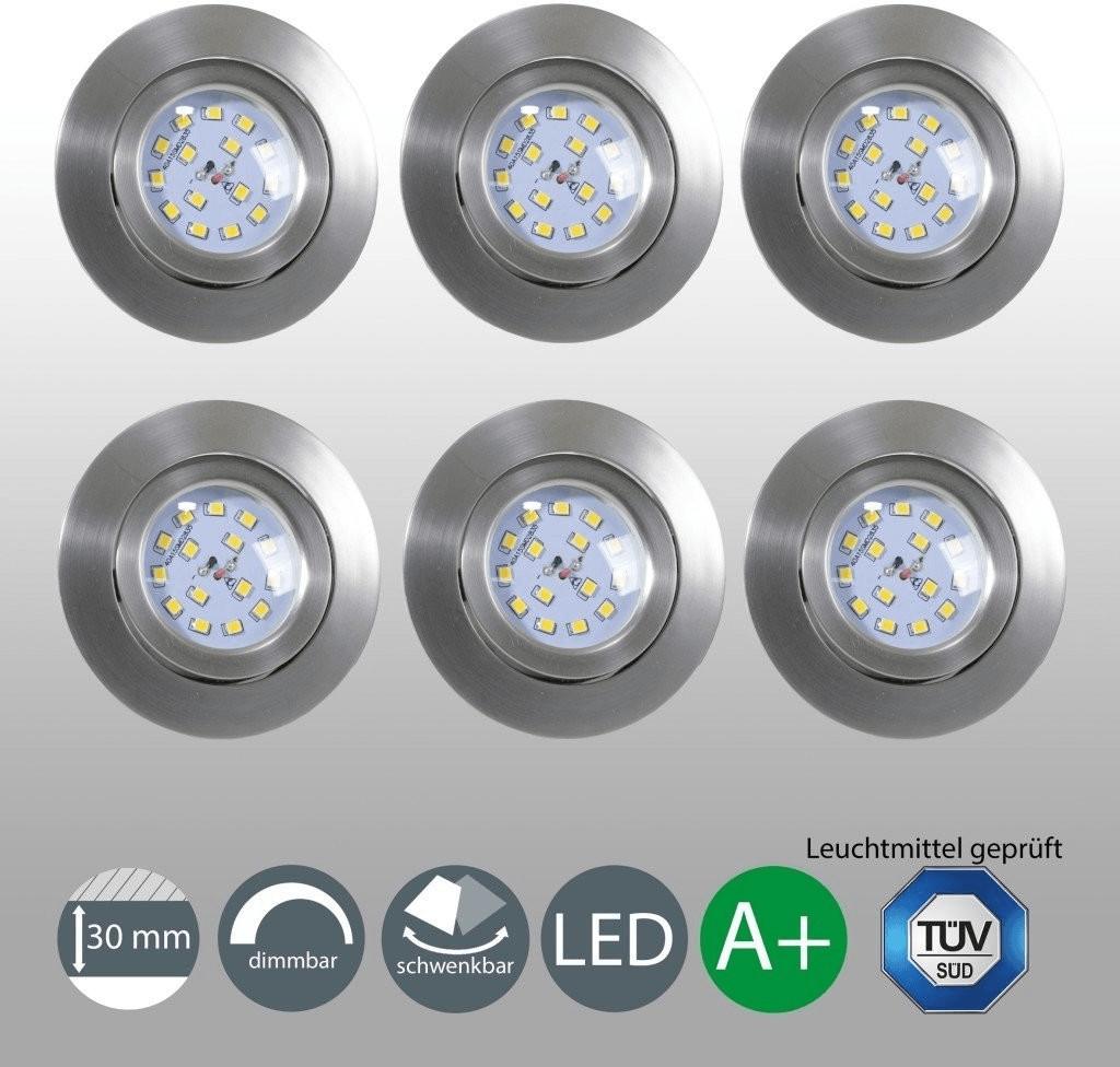 B.K. Licht Mano 5,5W 6er-Set (10-05-06-S)