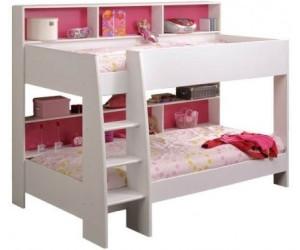 parisot etagenbett tam tam wei ab 279 05. Black Bedroom Furniture Sets. Home Design Ideas
