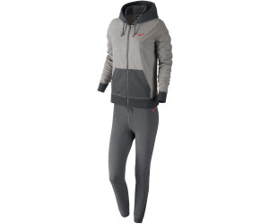 265bab9216b2f8 Nike Jersey Cuffed Trainingsanzug Damen dark grey heather (623417-064)
