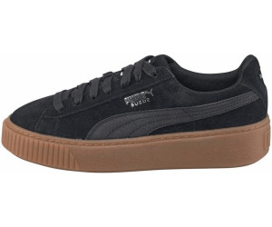 Puma Plateau Sneaker schwarz Wildleder Platform