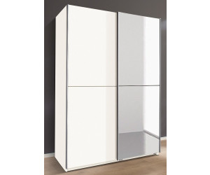 wimex schrank mit teilspiegel wei 135 cm ab 246 49 preisvergleich bei. Black Bedroom Furniture Sets. Home Design Ideas