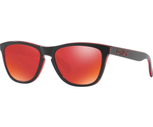 Oakley Frogskins OO9013 A7 Sonnenbrille in eclipsed red 55/17 6AAB5