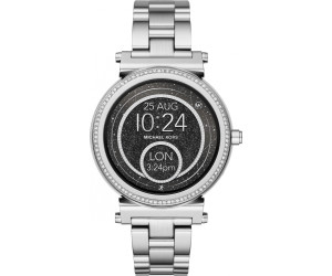 91a03cfa6ef2 Buy Michael Kors Access Sofie Pavé silver (MKT5020) from £199.99 ...