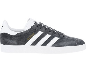 adidas Gazelle, Scarpe da Ginnastica Basse Uomo, Grigio (DGH Solid Grey/White/Gold Metallic), 44 EU