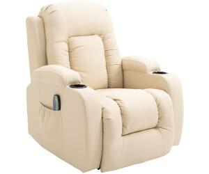 relaxsessel mit liegefunktion design, homcom relaxsessel mit heizfunktion creme ab 301,71, Design ideen