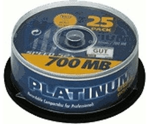 Image of Bestmedia CD-R 700MB 80min 52x 25pk Spindle