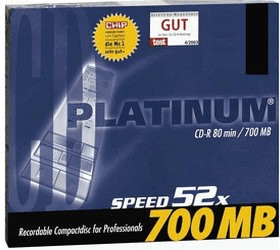 Bestmedia CD-R 700MB 80min 52x 1er