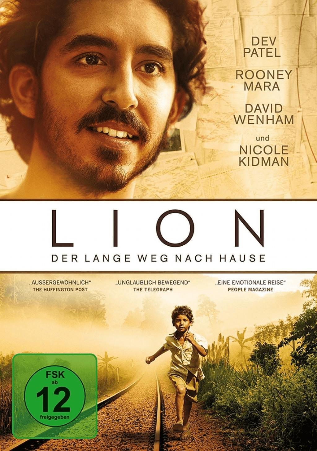 Lion - Der lange Weg nach Hause [DVD]