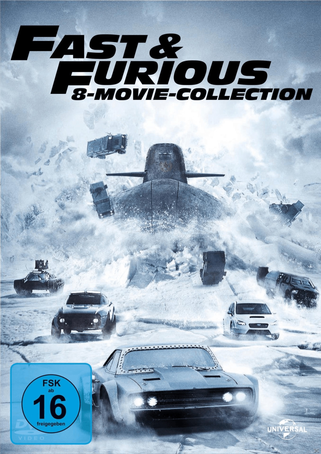 Fast & Furious 8-Movie-Collection [DVD]