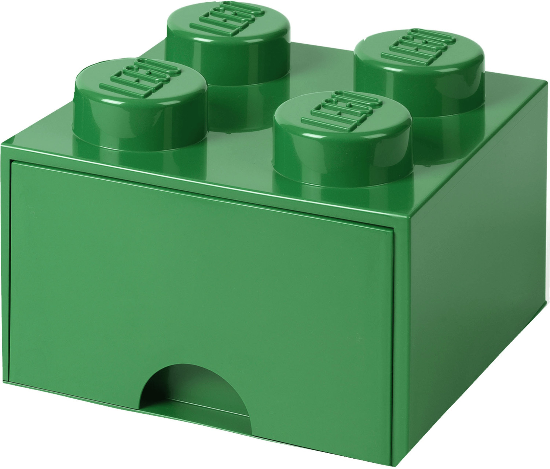 LEGO LEGO Brick Schublade 4 Knöpfe grün