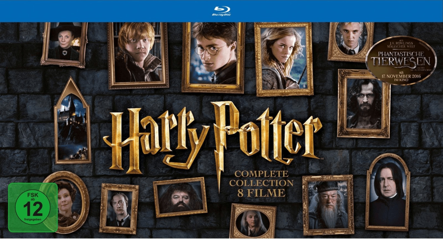 Harry Potter - The Complete Collection (Layflat...