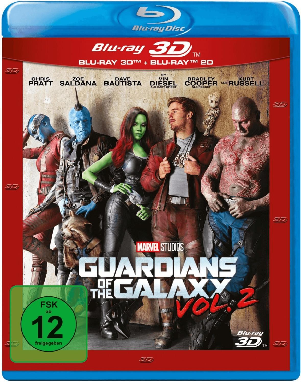 Guardians of the Galaxy Vol. 2 3D (+2D) [Blu-ray]