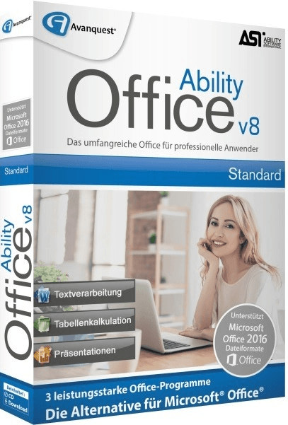 Image of Avanquest Ability Office 8