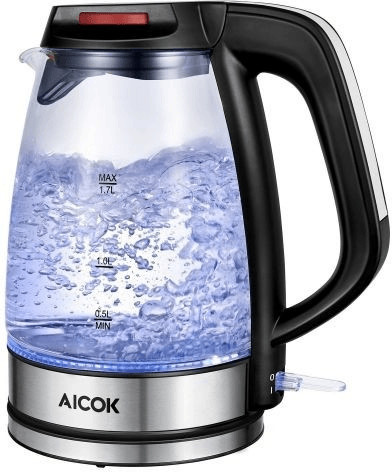 Aicok Glas Wasserkocher
