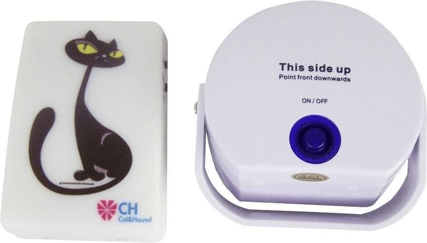 CH Haustier-Türklingel Cat weiß