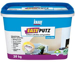 Knauf Easyputz 0,5 mm weiß 20 kg (262562) ab 49,95