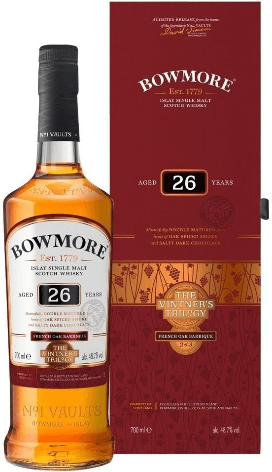 Bowmore 26 Jahre French Oak Barrique Vintner´s ...