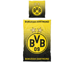 Bvb Borussia Dortmund Bettwäsche 80x80135x200cm Ab 3899