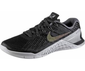 Nike Metcon 3 Fitnessschuhe Damen, blackmulticolormetallic silver,Größen: 40, 41, 42