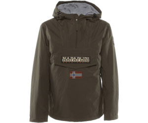 L . Dark Grey Solid 198 Napapijri Men/'s Rainforest Pocket Jacket Grey