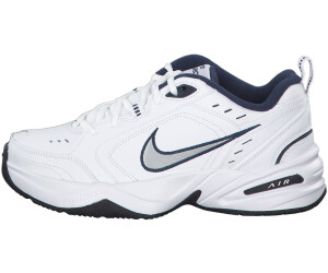 on feet shots of lowest price store Buy Nike Air Monarch IV white/metallic silver from £45.02 ...