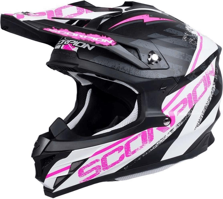 Scorpion VX-15 Evo Air Gamma black/white/pink