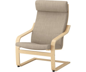 Ikea Poang Sessel ~ Ikea poäng sessel hocker gestell weiss bezug weiss grau in