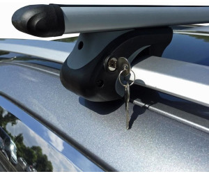 Avant 2008-2014 VDP Dachbox schwarz Juxt 600 gro/ßer Dachkoffer 600 Liter abschlie/ßbar 8K Alu-Relingtr/äger Dachgep/äcktr/äger f/ür aufliegende Reling im Set f/ür Audi A4