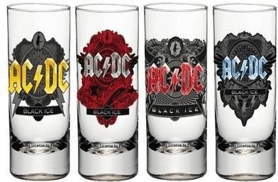 GB Eye AC / DC Schnapsgläser 4er Set