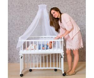 babybay Himmelstange für alle Modelle weiß