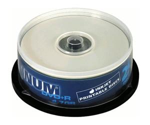 Image of Bestmedia DVD+R 4,7GB 120min 16x printable 25pk Spindle