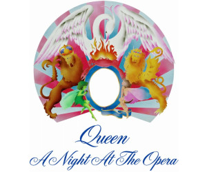 Queen A Night At The Opera Limited Black Vinyl