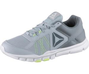 Womens Yourflex Trainette 9.0 MT Track Shoe, Cloud Grey/Asteroid Dust/Electric Flash/White, 9 M US Reebok