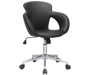 SixBros. Bürostuhl M-65335-1/724 Kunstleder schwarz