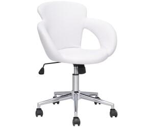 SixBros. Bürostuhl M-65335-1/725 Kunstleder weiß