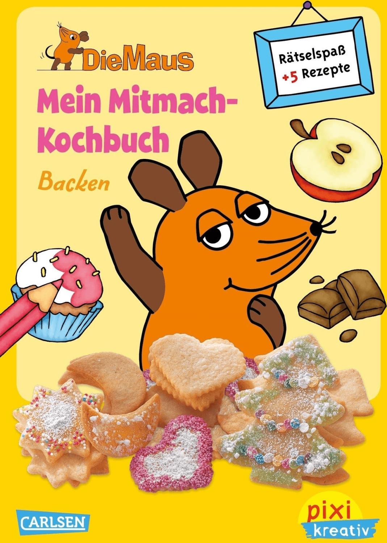Pixi kreativ 63: VE5 Die Maus: Mein Mitmach-Koc...