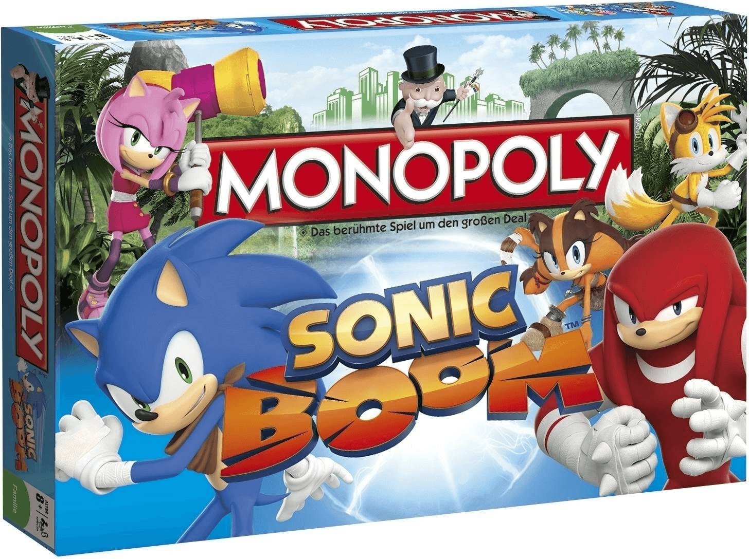 Winning-Moves Monopoly Sonic Boom (44321)