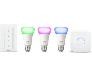 Philips Hue White and Color Ambiance Starter Kit E27 + Schalter ab ...