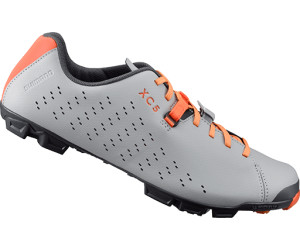 Shimano XC5 bike shoes grey-orange