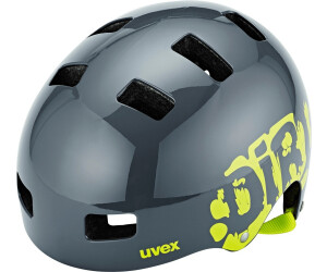 Uvex Kid 3 dirtbike gray-lime