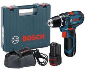 Bosch GSR 12V-15 Professional (2 x 2,0 Ah ...